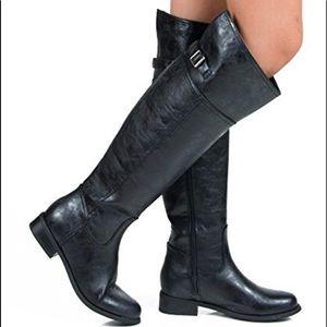 Breckelles Women's Rider-82 Riding Boot Knee High